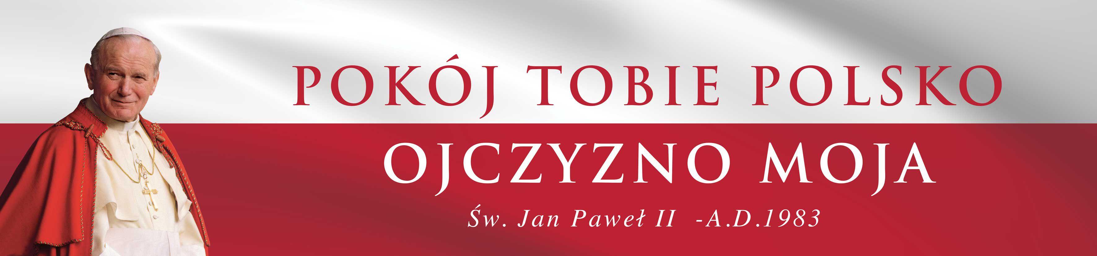 100-lecie odzyskania niepodleglosci - baner patriotyczny