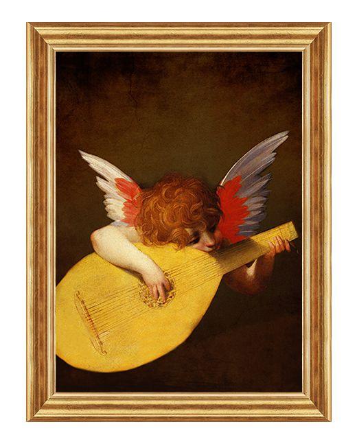 Muzykujący Anioł - Obraz religijny