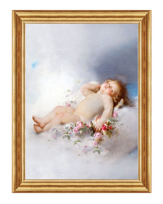 Śpiący Aniołek - Obraz religijny