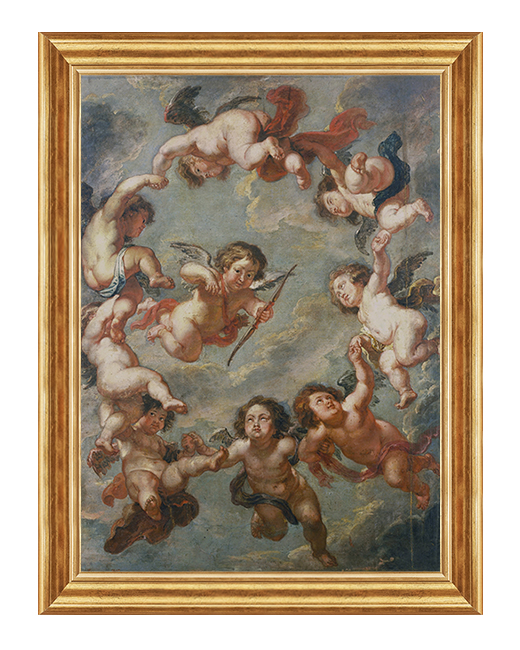 Aniolki Rubensa - Obraz religijny