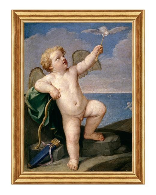 Aniolek z golabkiem - Obraz religijny