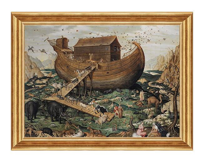 Arka Noego - Scena Biblijna - Obraz na plotnie