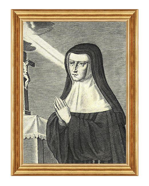 Blogoslawiona Alicja Le Clerc - Obraz religijny na plotnie