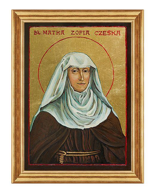Błogosławiona Zofia Czeska - Obraz religijny