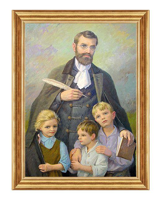 Bł. Edmund Bojanowski - Obraz religijny