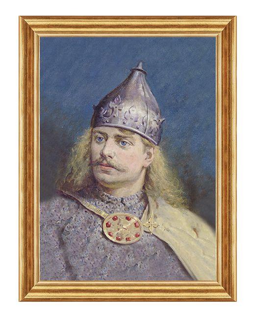 Bolesław III Krzywousty - Obraz patriotyczny