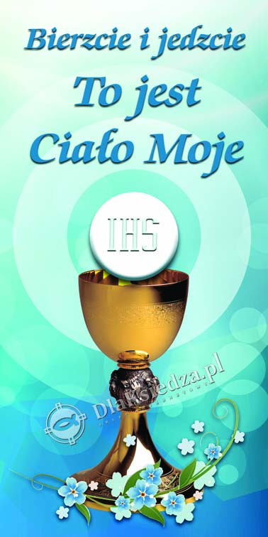 Boze Cialo - Dekoracja do kosciola, baner na oltarz