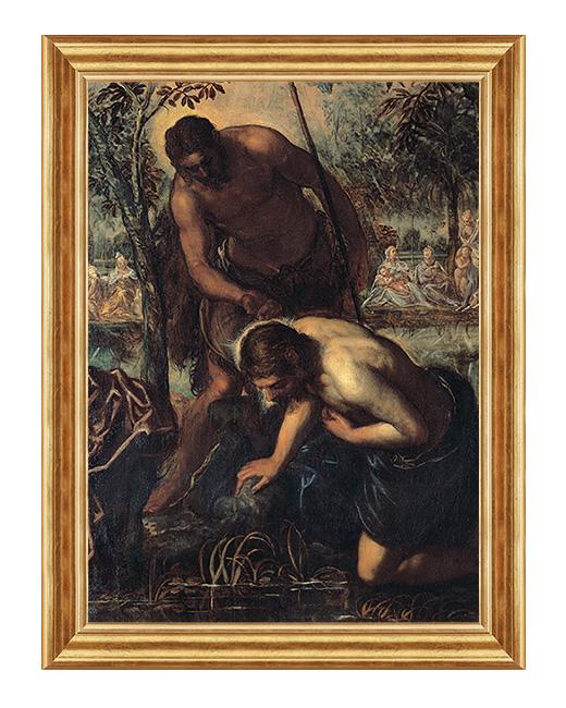 Chrzest Pana Jezusa - Obraz religijny
