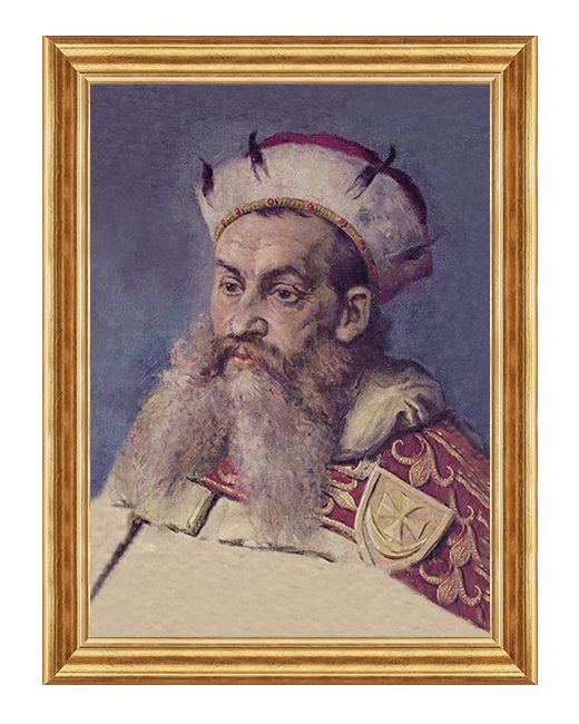 Henryk I Brodaty - Obraz patriotyczny
