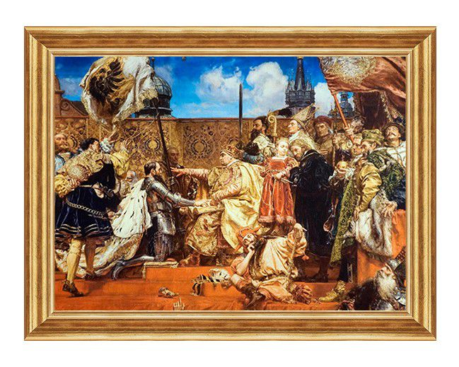 hold pruski - obraz patriotyczny