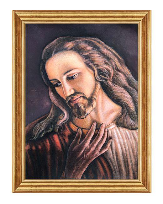 Zdjęcie Jezusa - Brat Elia - Obraz religijny