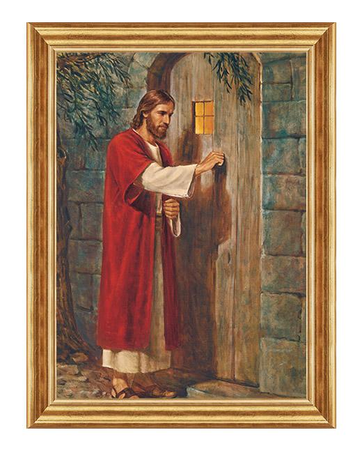 Jezus do drzwi pukajacy - Obraz religijny