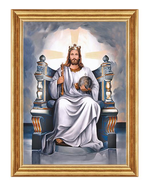 Jezus Krol - Obraz religijny