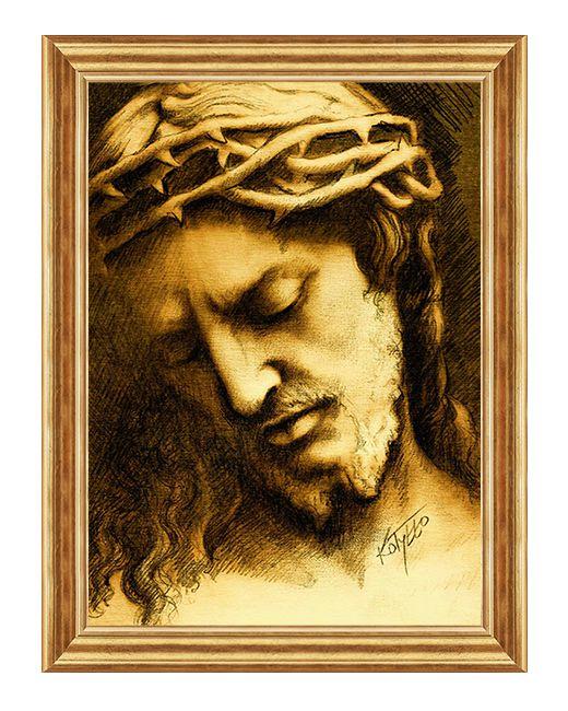 Ecce Homo - Jezus Cierpiacy  - Obraz religijny