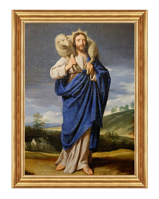 Jezus z barankiem - Obraz religijny
