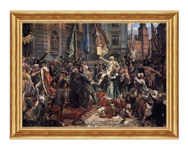 konstytucja 3 maja - obraz patriotyczny