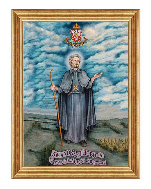 Swiety Andrzej Bobola - Obraz religijny