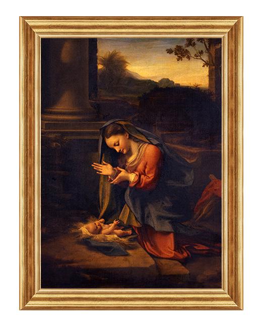 Madonna z dzieciatkiem - Obraz religijny