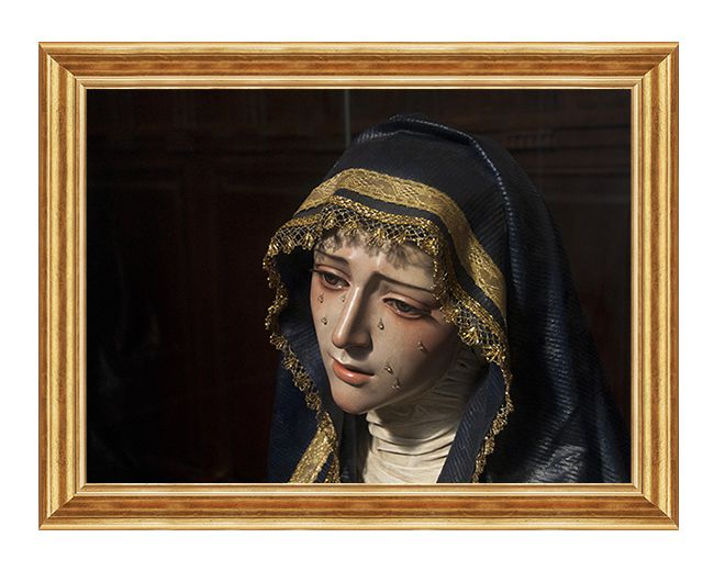 Matka Boza Placzaca - Obraz religijny na plotnie