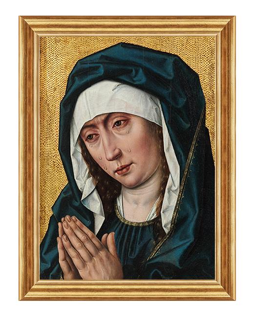 Matka Boza Placzaca - Obraz religijny