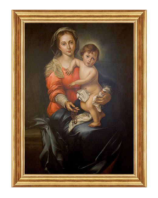 Matka Boza Rozancowa - Obraz religijny