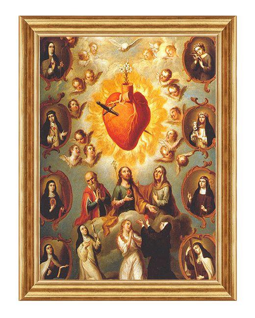 Matka Boża - Serce Maryi - Obraz religijny