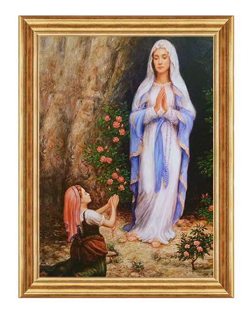 Matka Boza z Lourdes - Obraz religijny