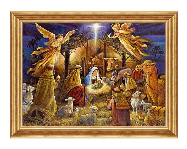 Narodziny Pana Jezusa - Obraz religijny