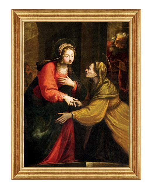 Nawiedzenie Swietej Elzbiety - Obraz biblijny na plotnie