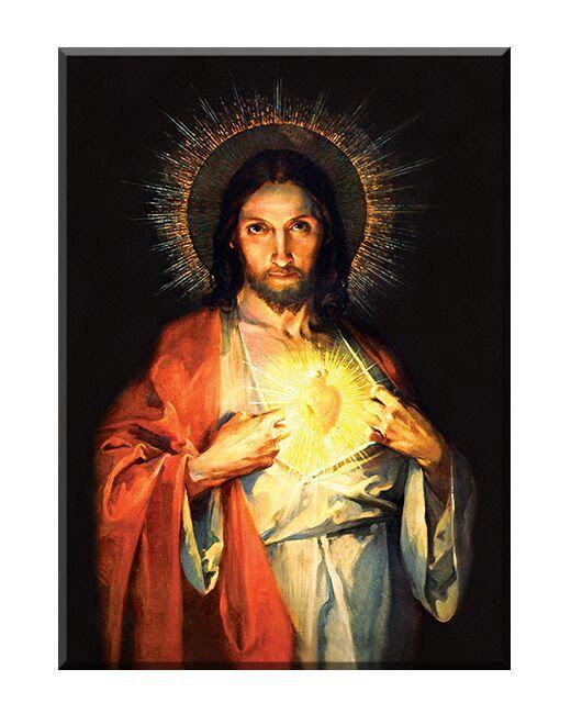 Serce Jezusa - 03 - Obraz religijny