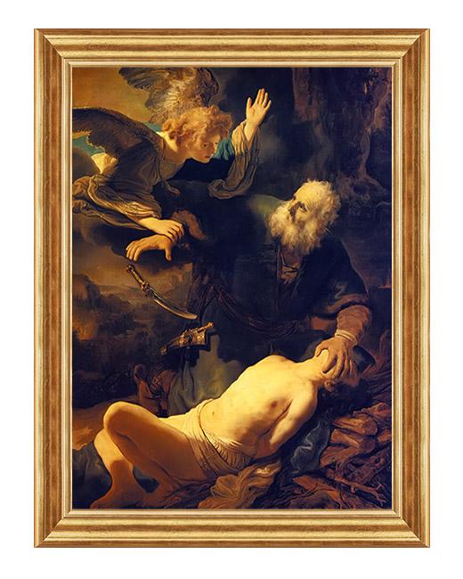 Ofiara Abrahama z Izaaka - Scena biblijna