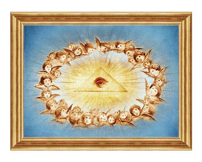 Oko Opatrzności Bożej - Obraz religijny