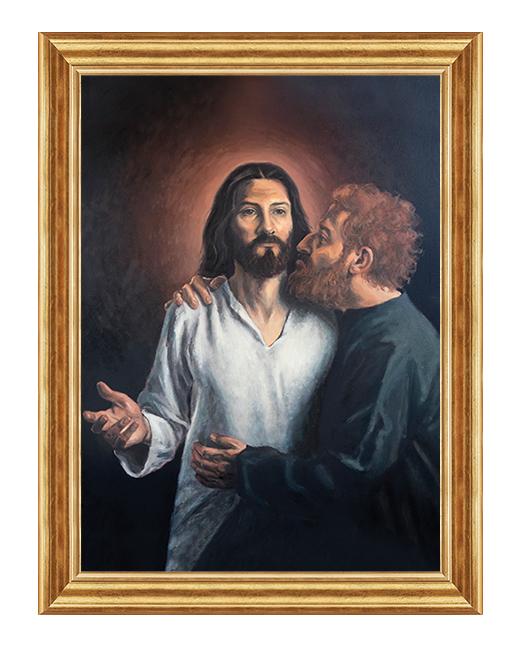Jezus i Judasz - Obraz religijny