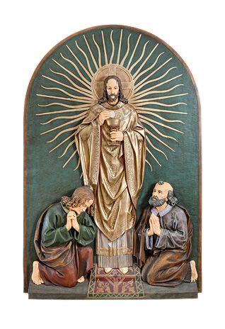 plaskorzezba jezus