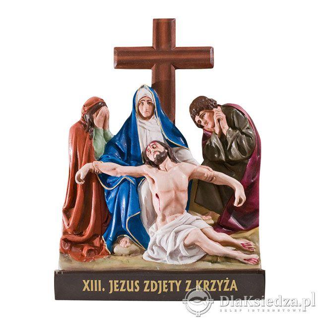 Plaskorzezby - Droga krzyzowa -36x52 cm