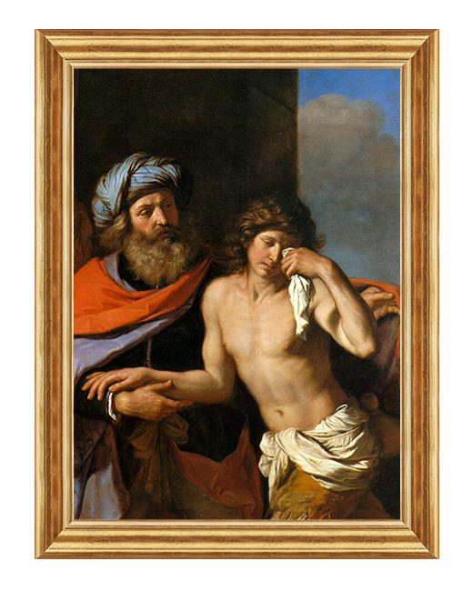 Powrot syna marnotrawnego - Obraz biblijny na plotnie