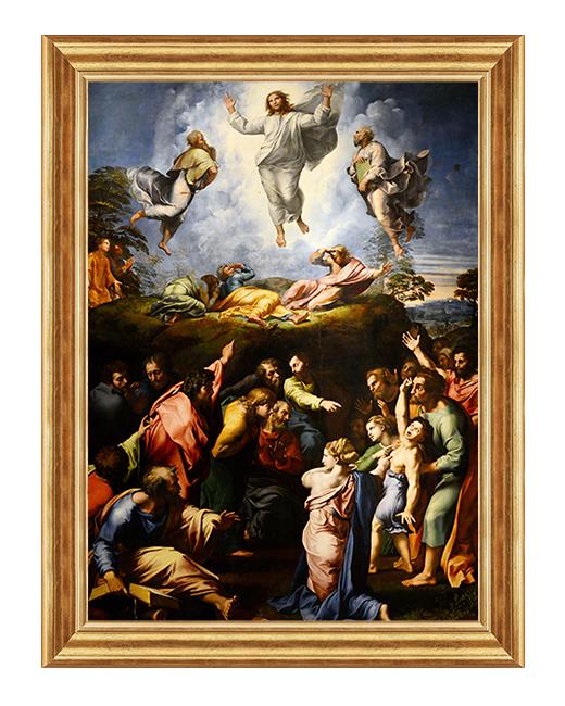 Przemienienie Panskie - Obraz religijny na plotnir