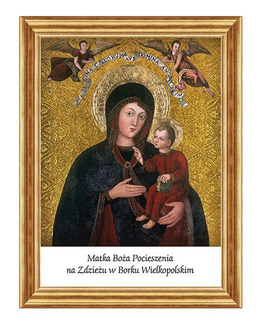 Sanktuarium w Borku Wielkopolskim - Obraz religijny