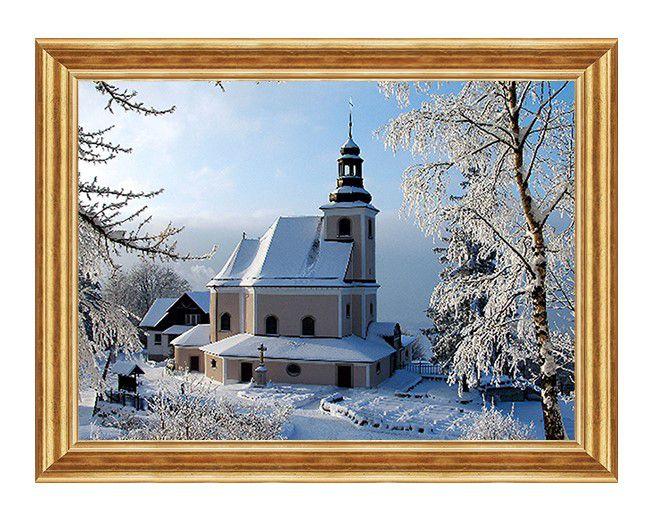 Sanktuarium w Śnieżnej - Obraz religijny