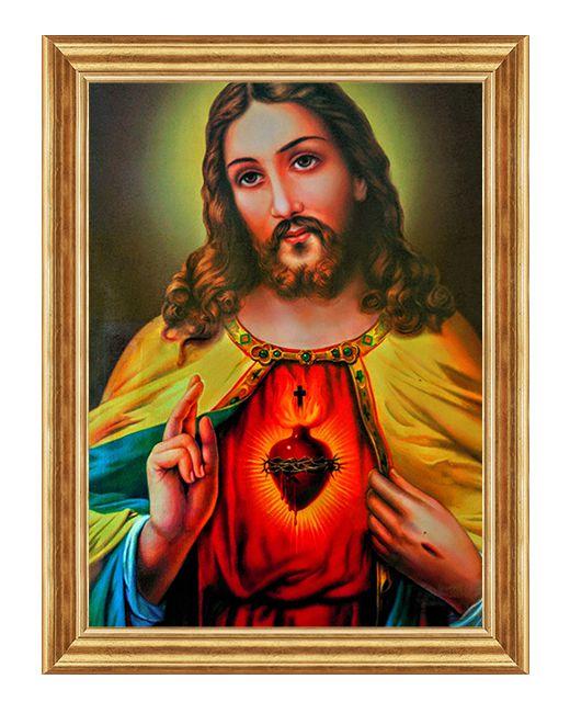 Serce Jezusa - Alwernia - Obraz religijny