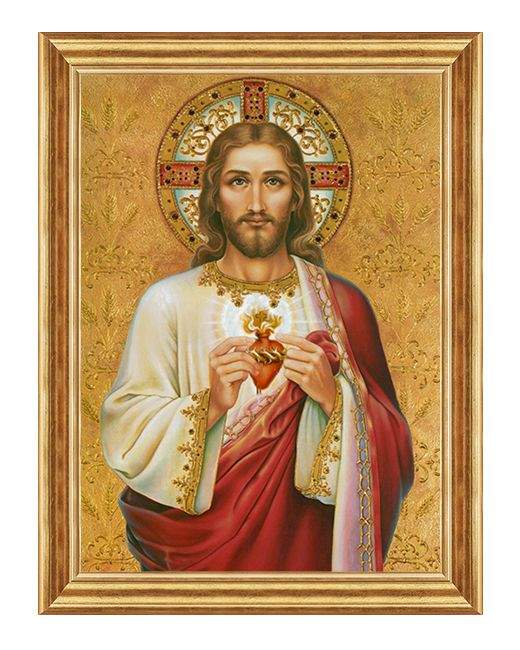 Serce Jezusa - Obraz religijny