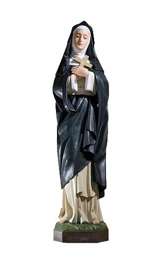Swieta Klara - Figura religijna