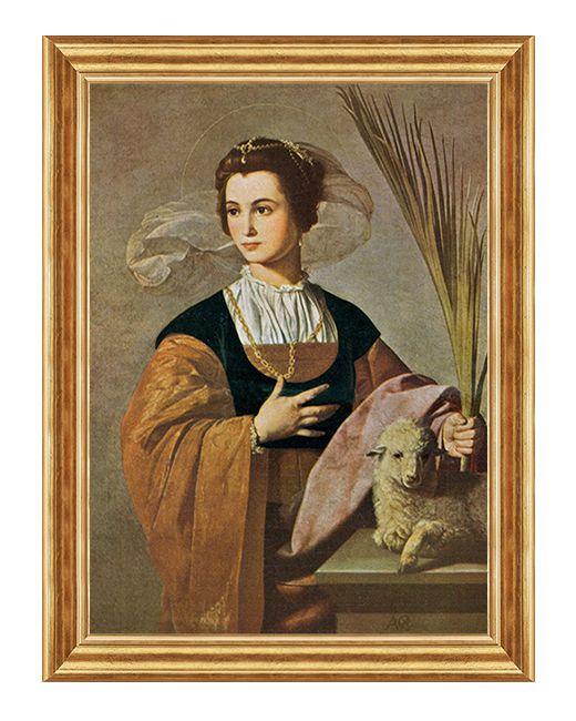Swieta Agnieszka Rzymianka - Obraz religijny