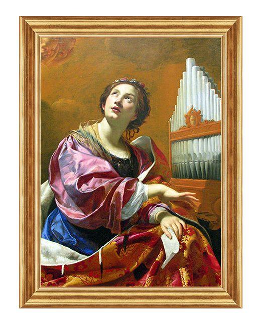 Swieta Cecylia - Obraz religijny