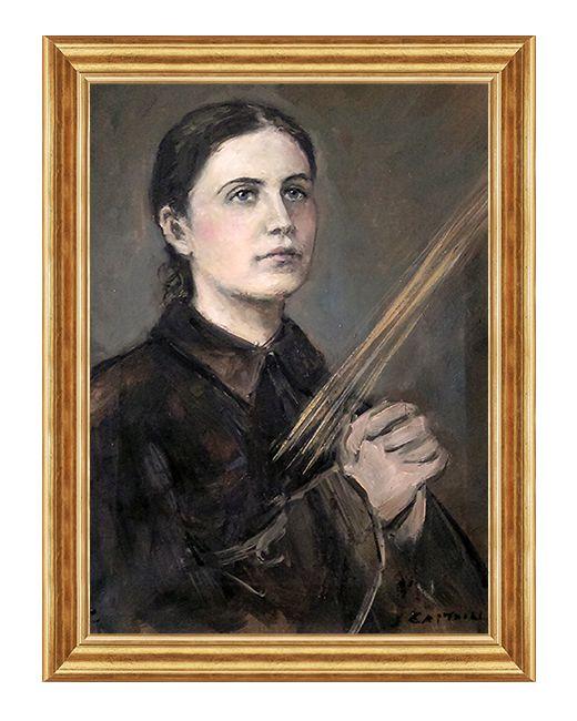 Swieta Gemma Galgani - Obraz religijny