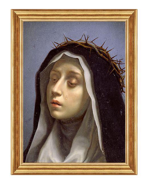 Swieta Katarzyna ze Sieny - Patronka Europy - Obraz religijny
