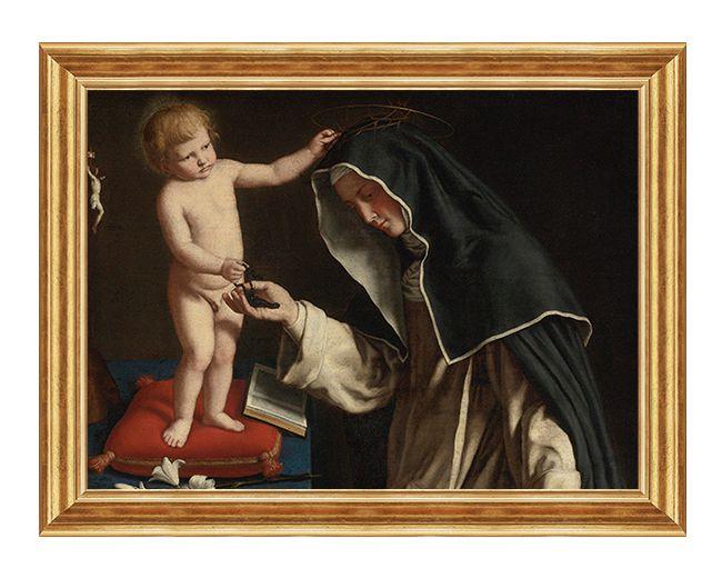 Swieta Katarzyna ze Sieny - Obraz religijny