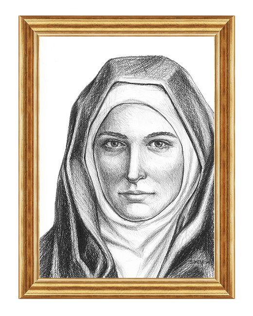 Swieta Klara - Obraz religijny