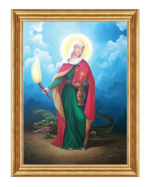 Swieta Marta z Betanni - Obraz religijny