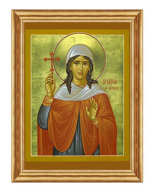 Swieta Oliwia - Obraz religijny